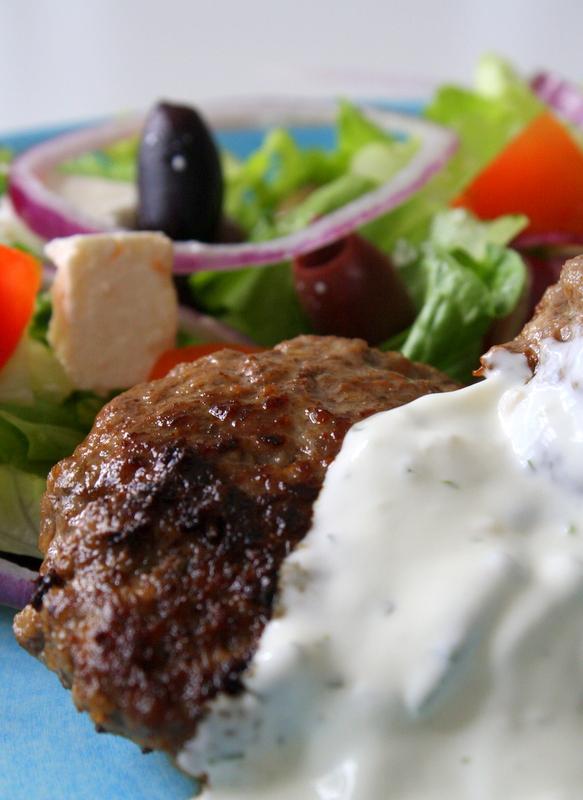 grekisk biff med fetaost