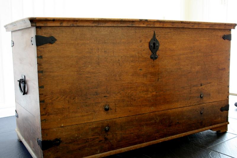 Kända En gammal kista / koffert - Jennys Matblogg YL-89