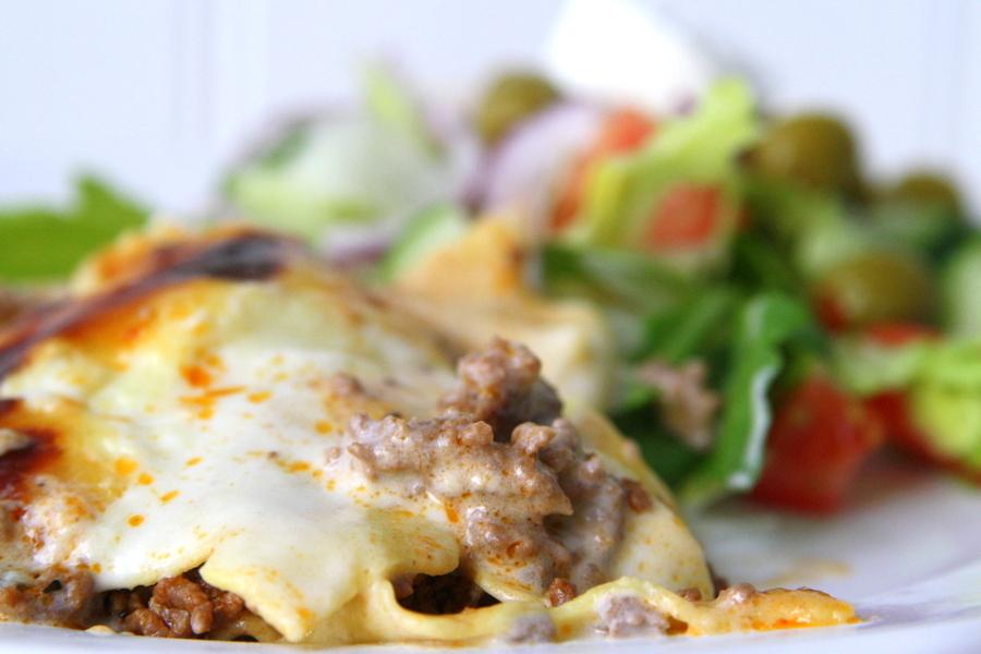 krämig lasagne jennys matblogg