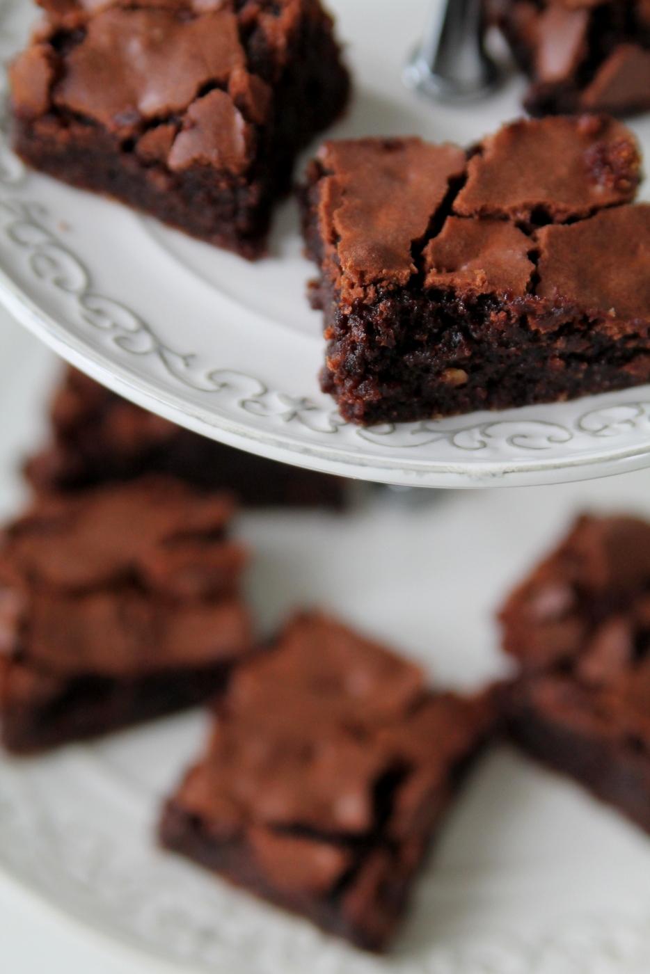 brownies recept långpanna