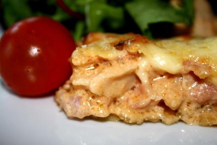 kyckling bacon paj