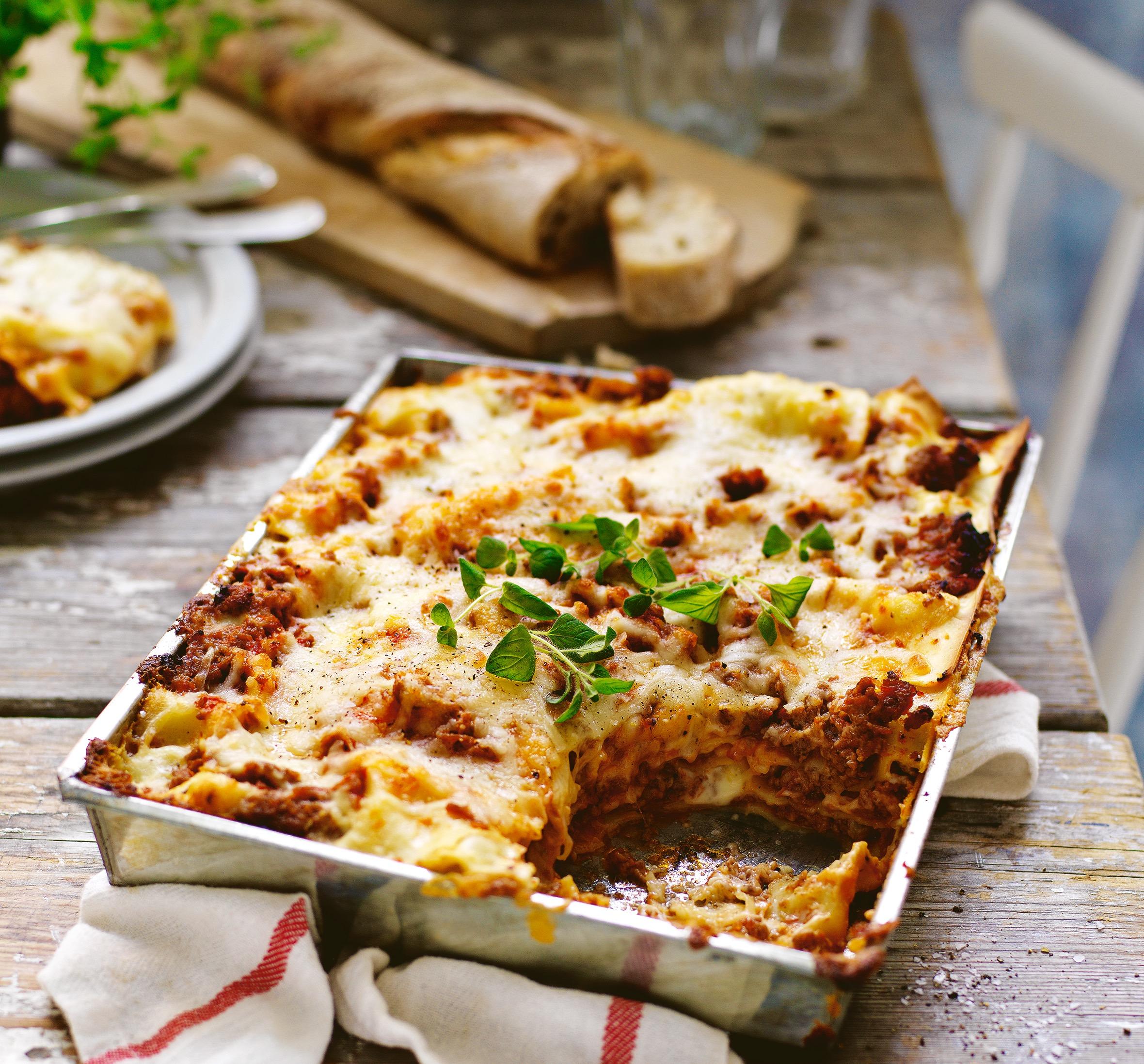 bästa vegetariska lasagnen