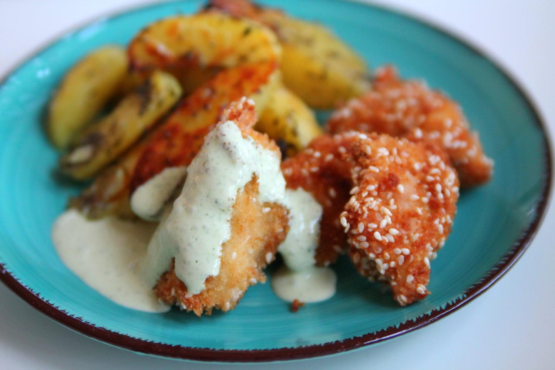 Recept på chicken nuggets
