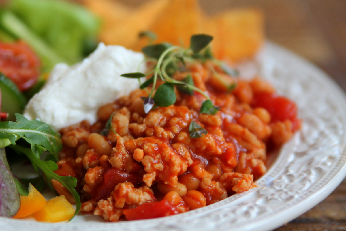 chili con carne recept