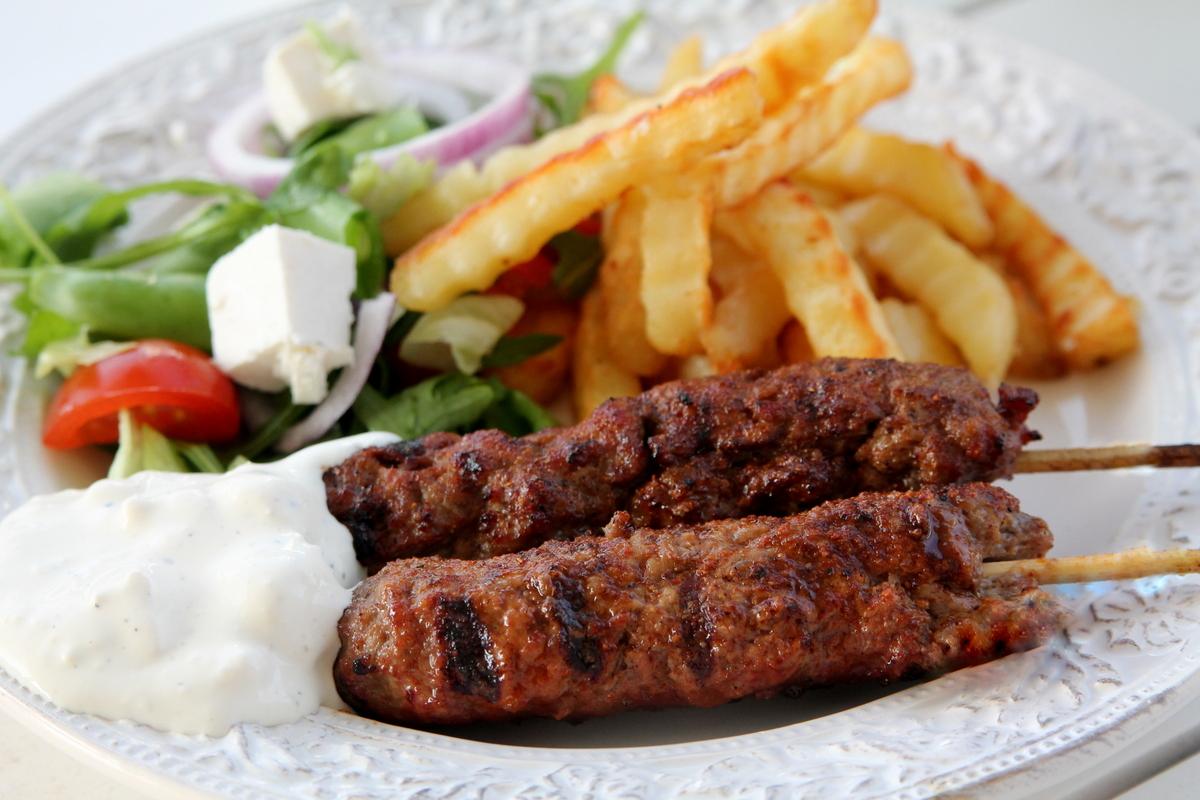 grillspett från grekland