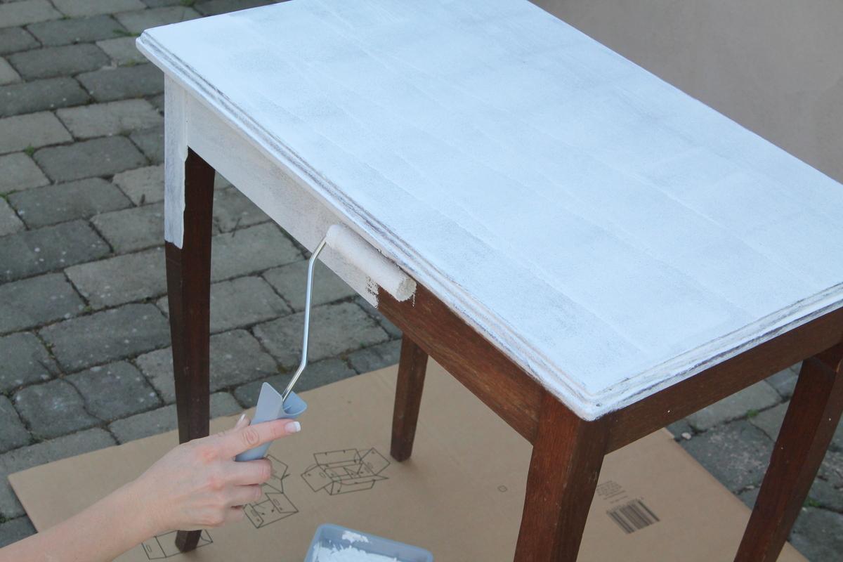 Hur jag mÃ¥lar om mina möbler - Jennys Matblogg : måla trädgårdsmöbler : Trädgård