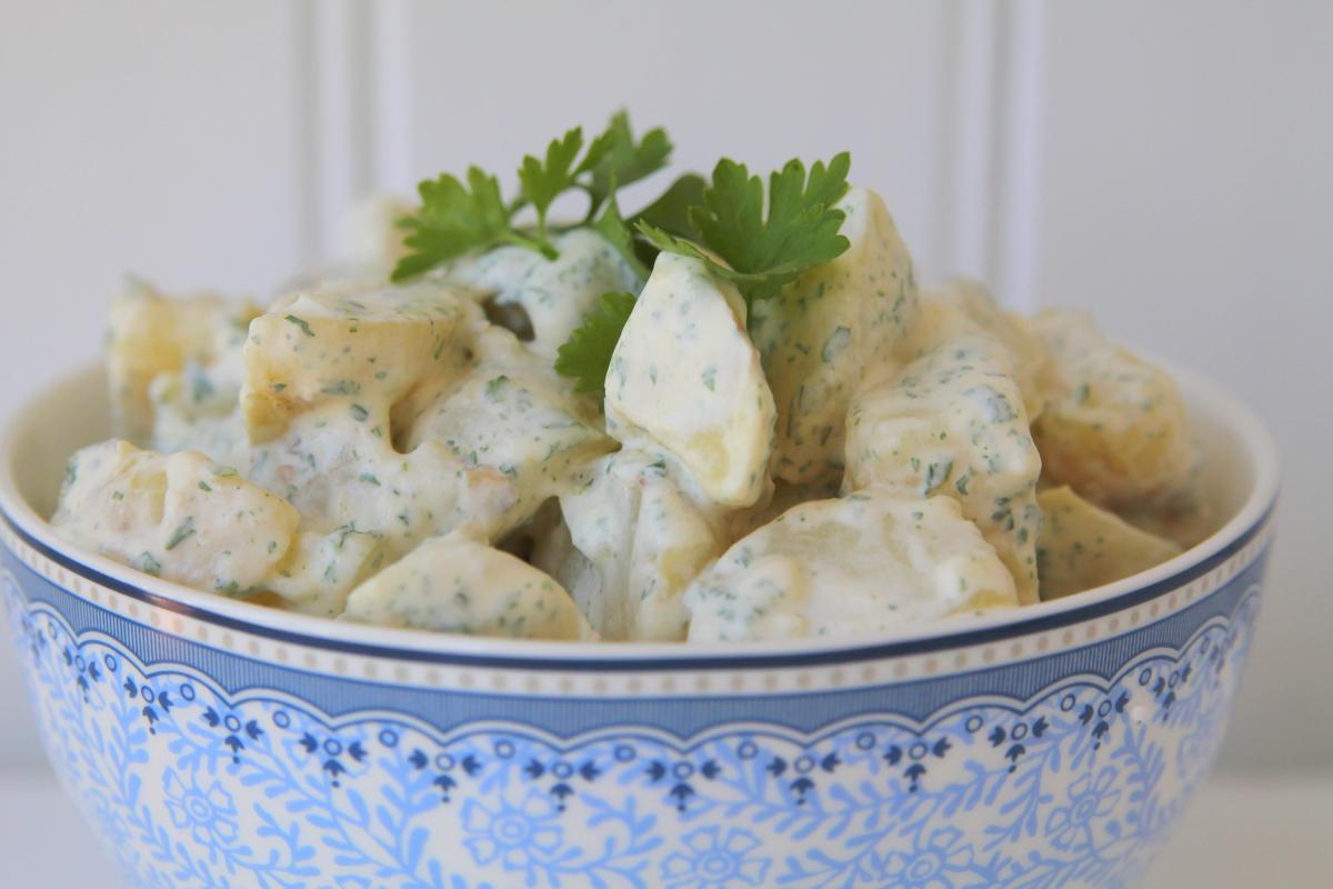 Recept på potatissallad
