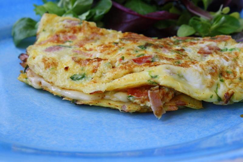 recept omelett