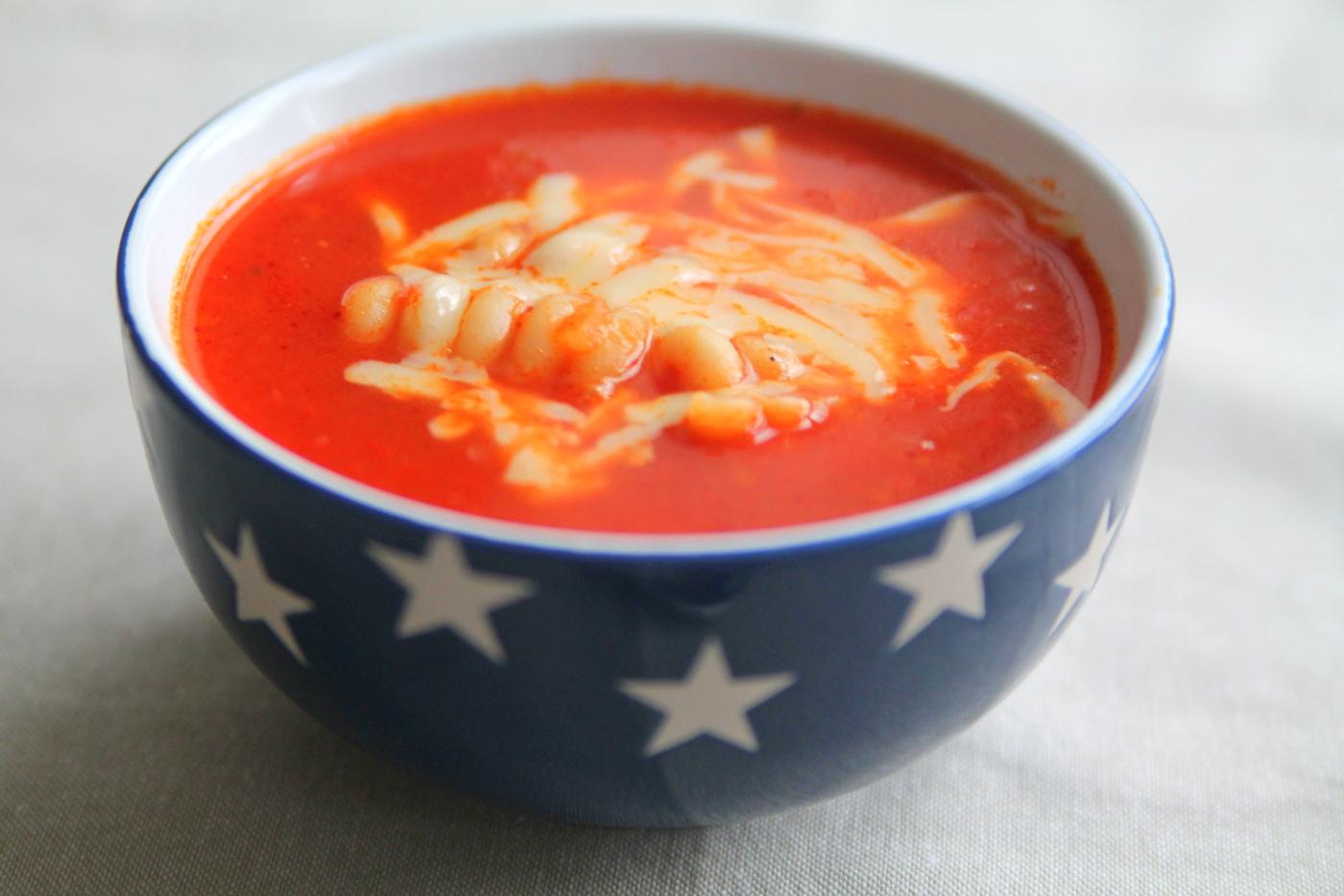 pasta soppa recept