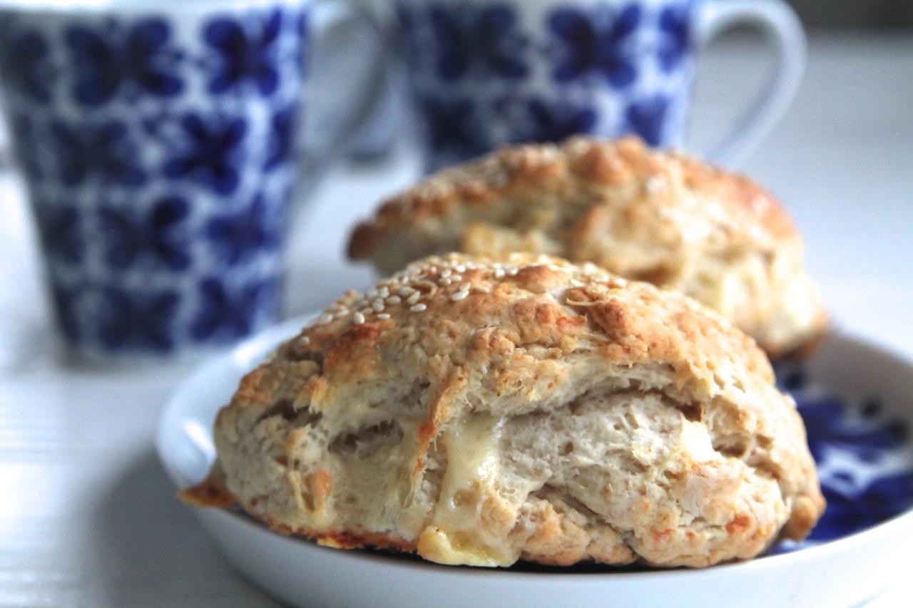 scones utan mjölk och smör