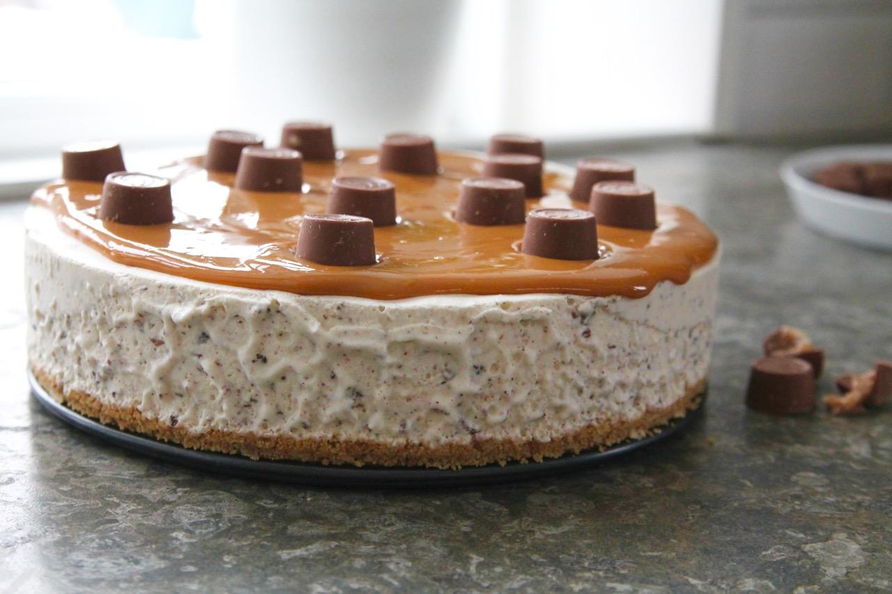 cheesecake kondenserad mjölk choklad