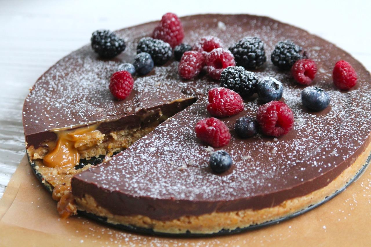 prinsesstårta med chokladfyllning