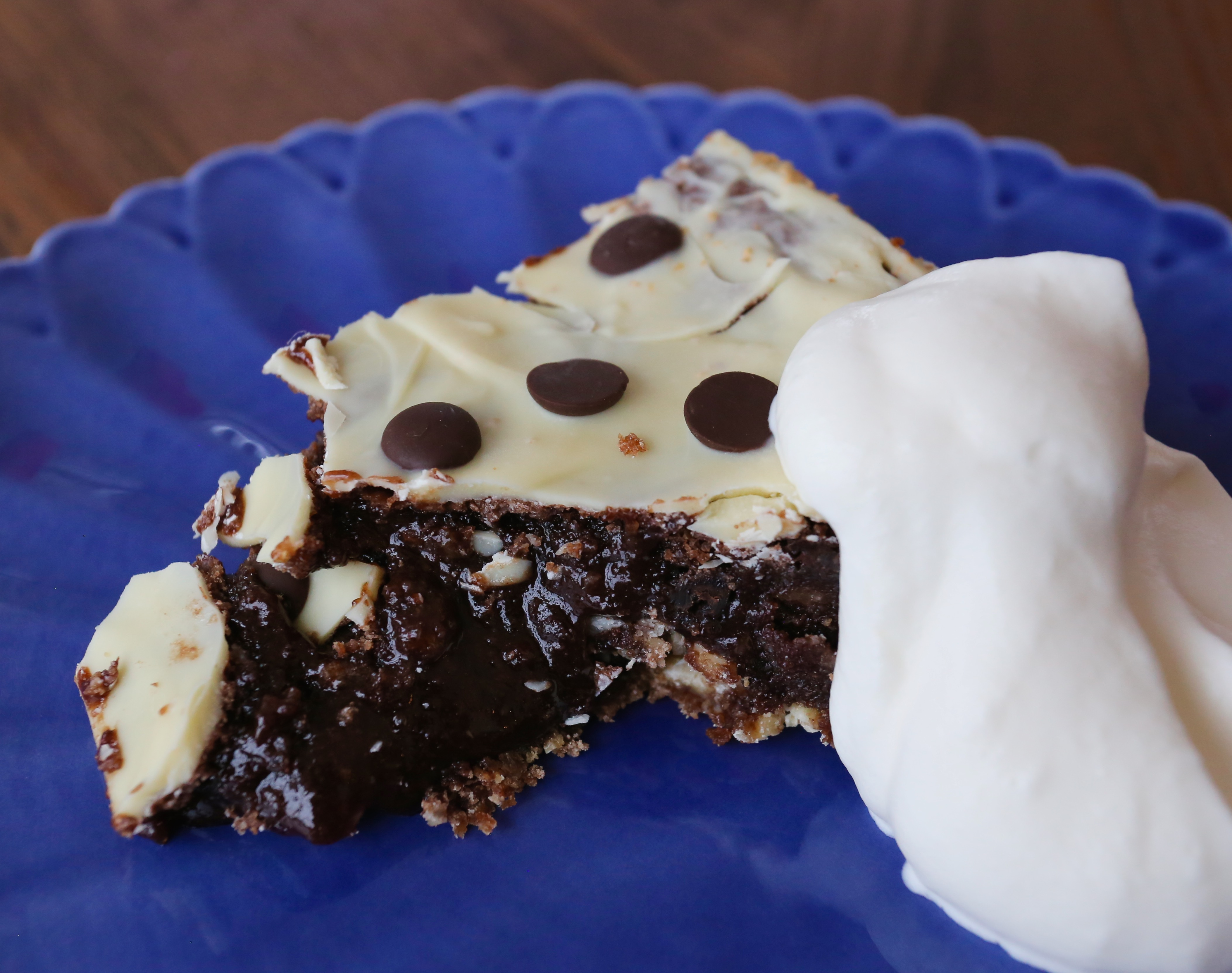 baka med vit choklad