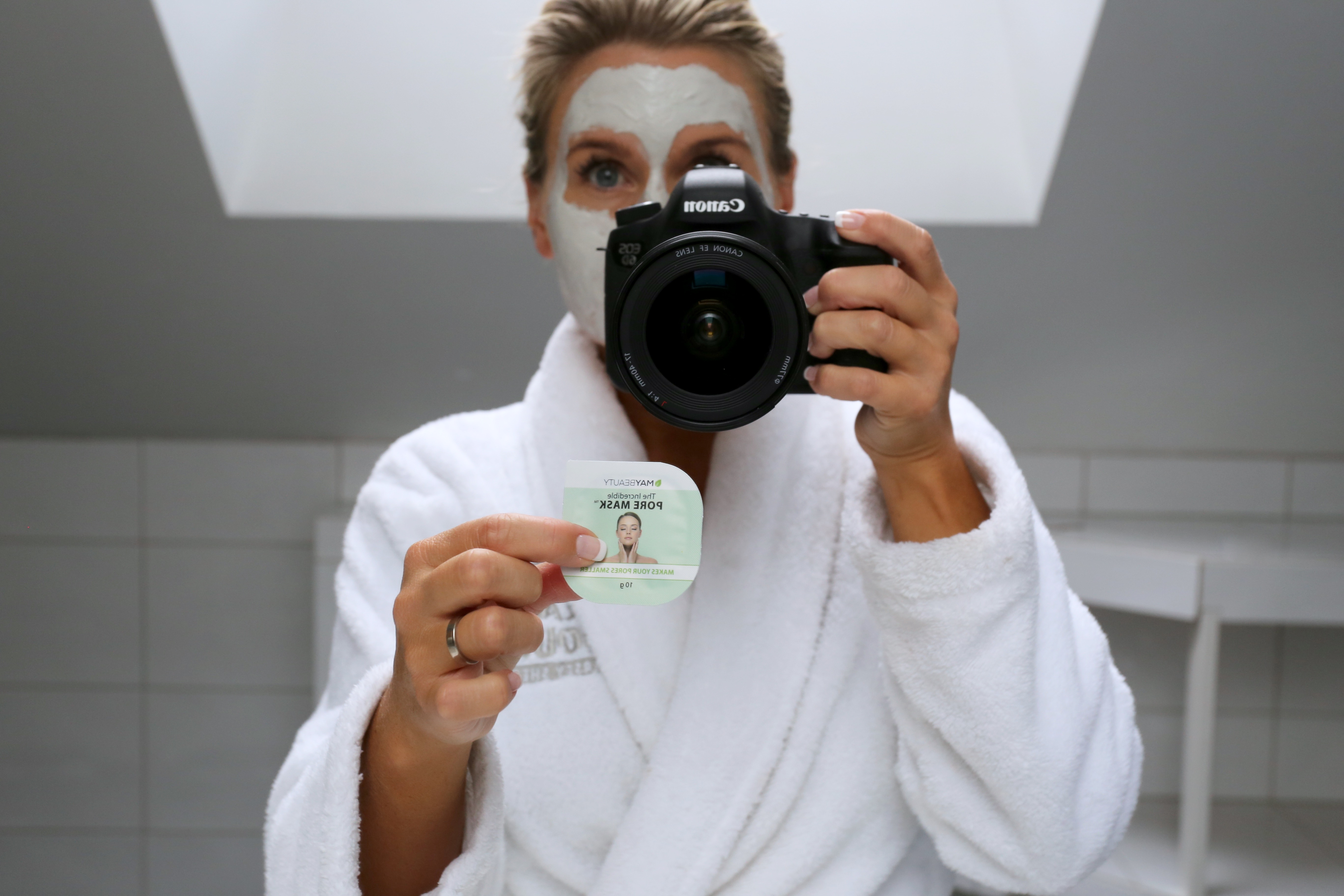 ansiktsmask pormaskar hemma