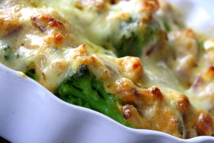 broccoligratäng recept lchf