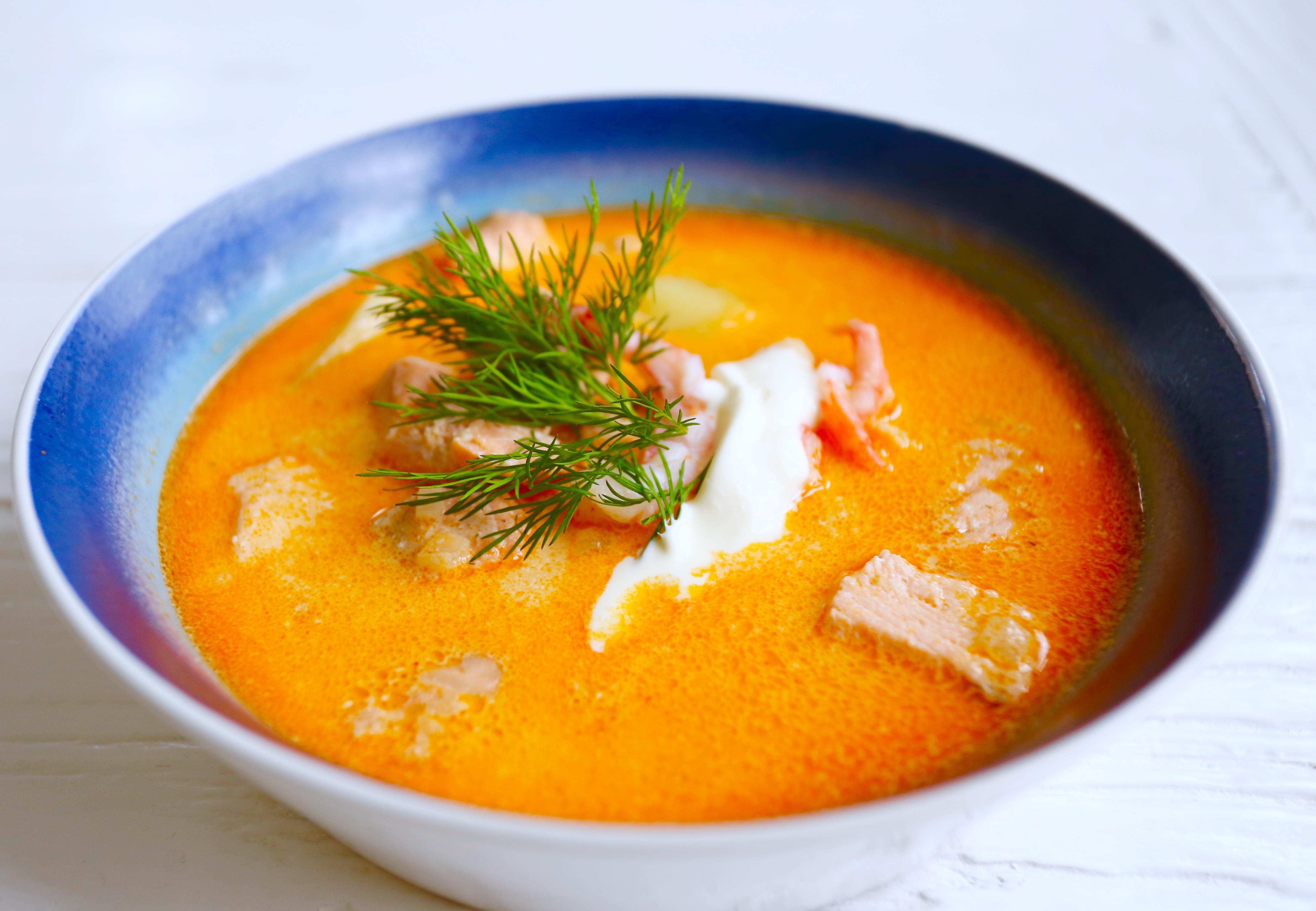 fisksoppa med potatis