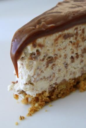 frozen cheesecake choklad