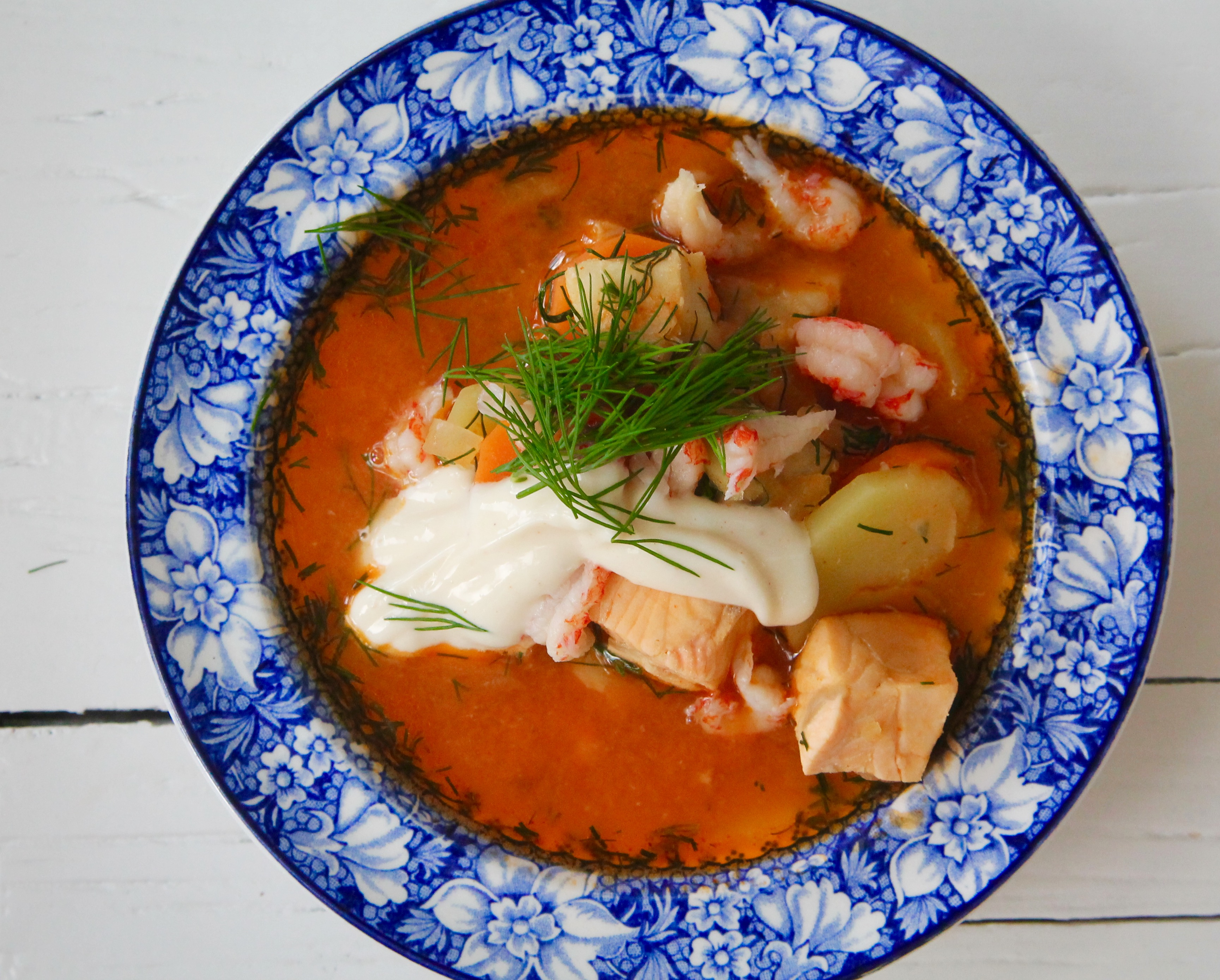 jennys matblogg fisksoppa