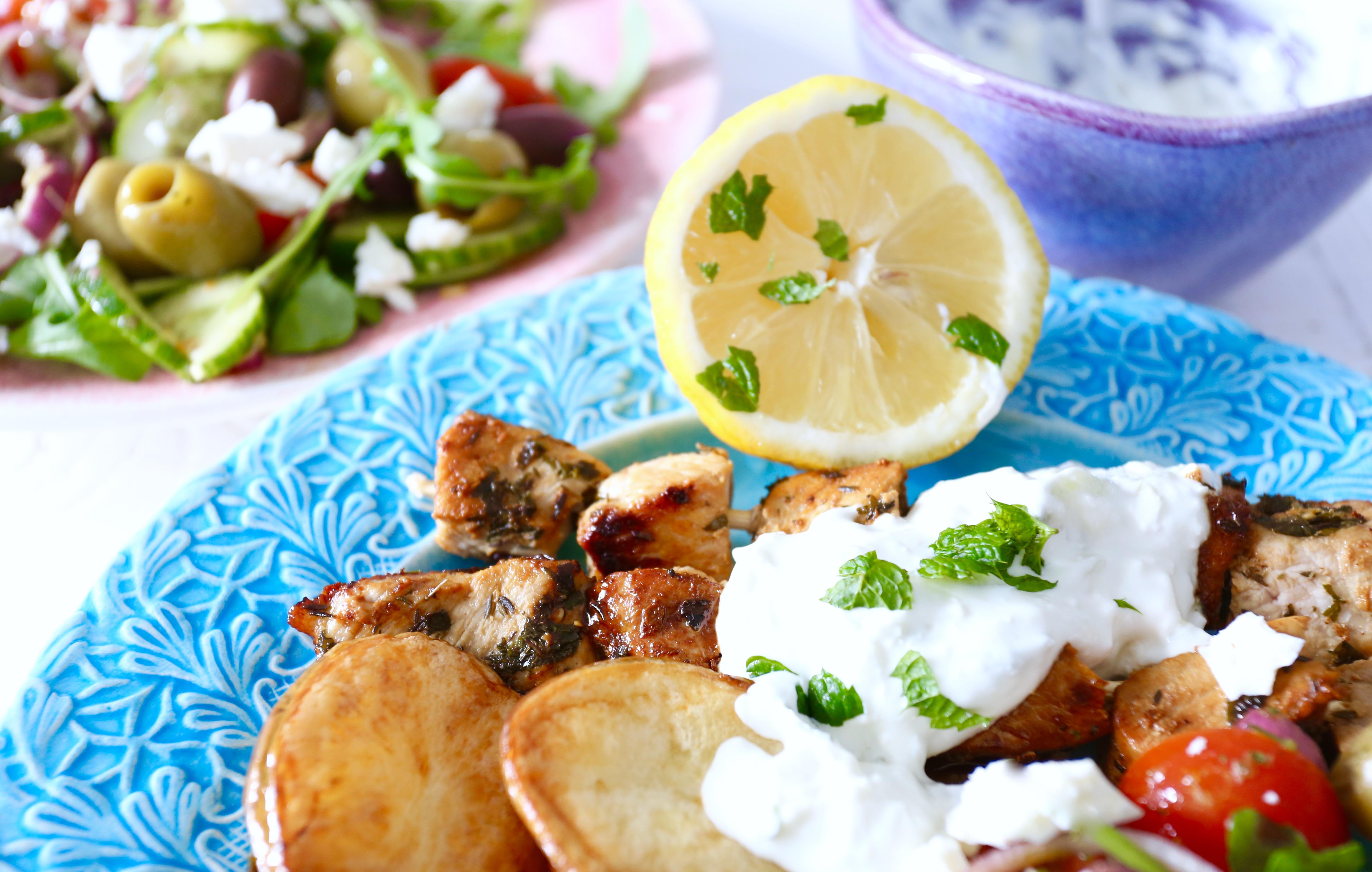 grekisk souvlaki recept
