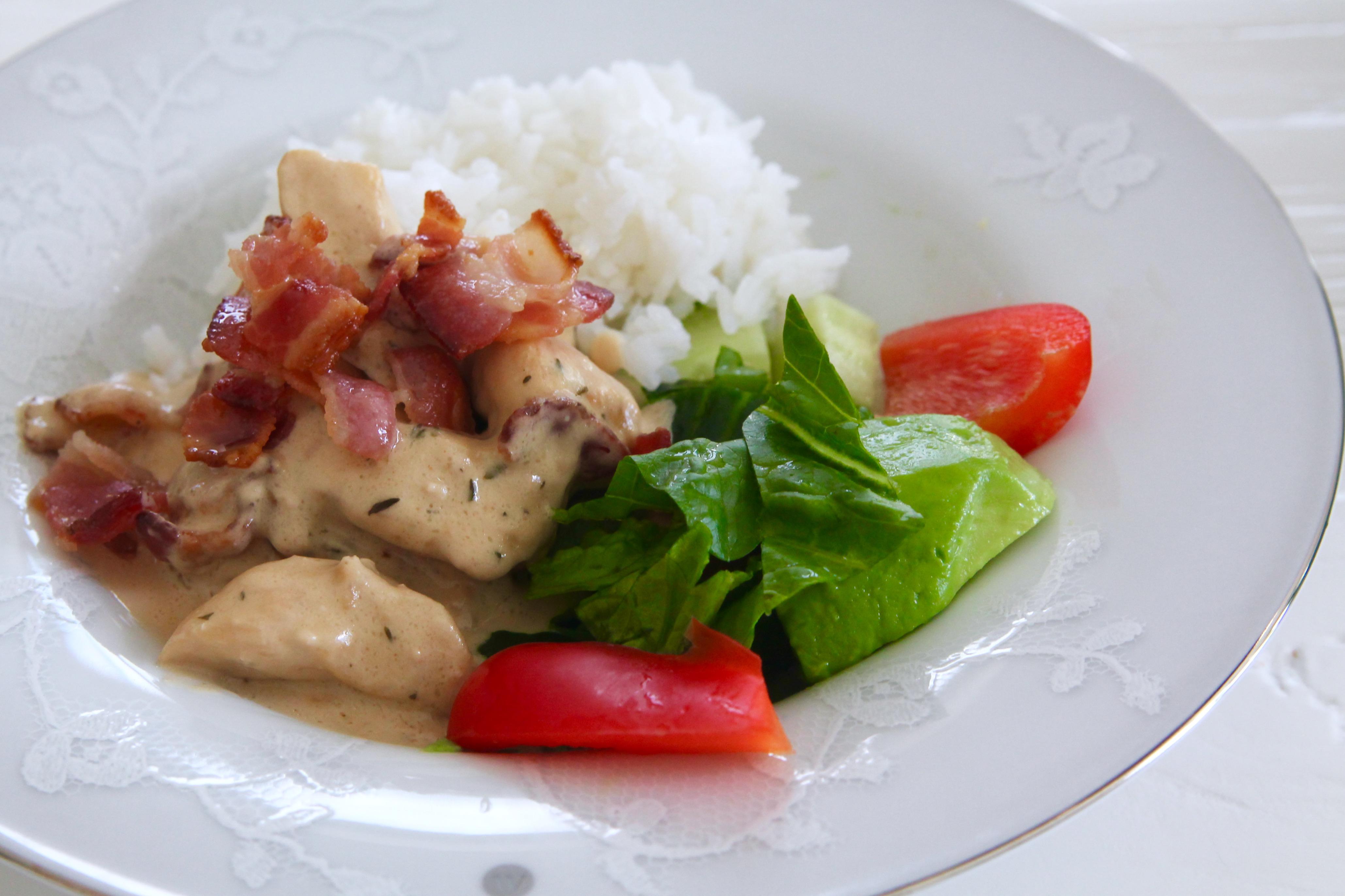 kyckling med balsamico jennys matblogg