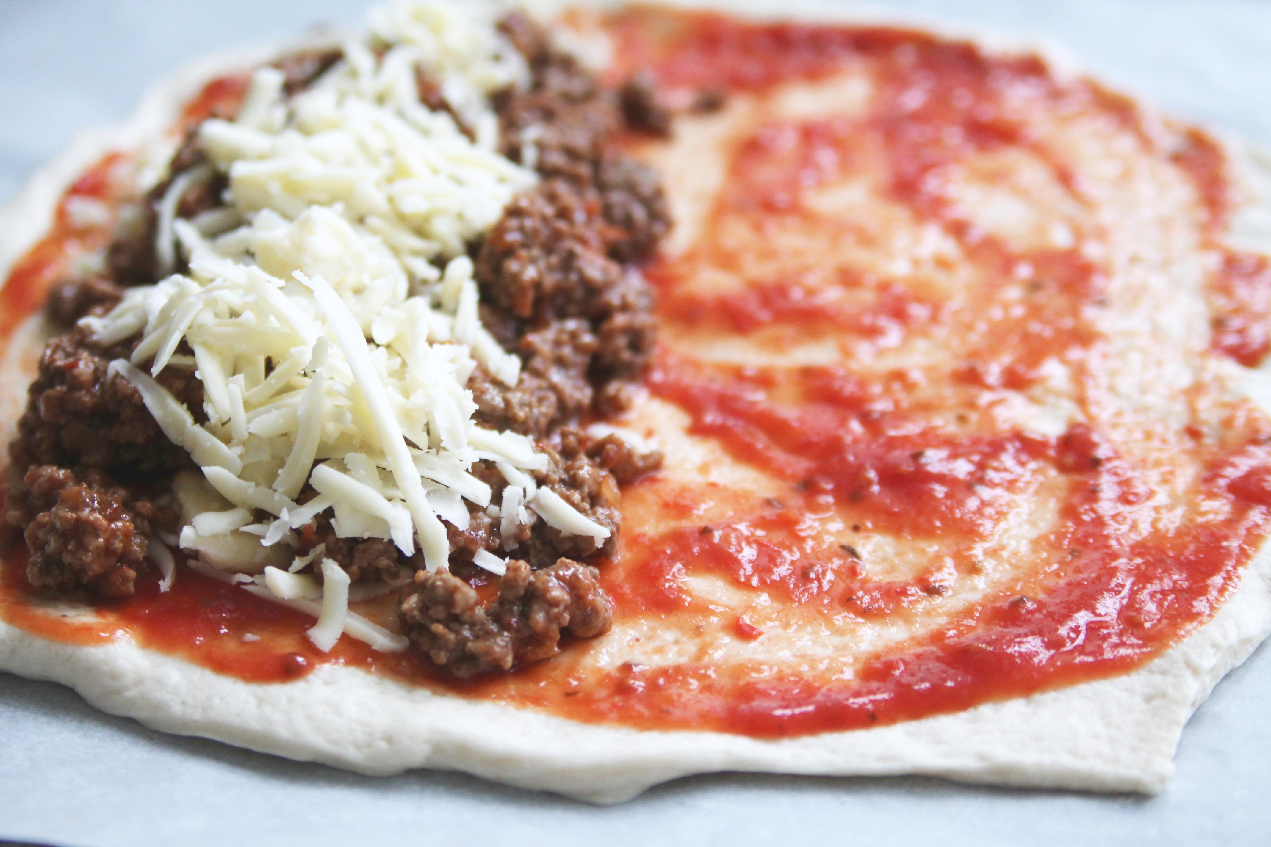 göra pizza hemma