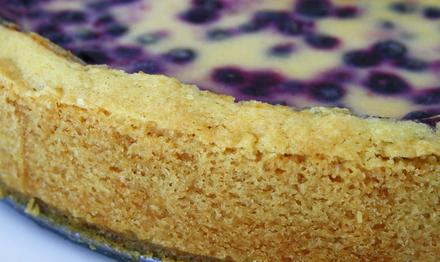 blåbärspaj med gräddfil recept