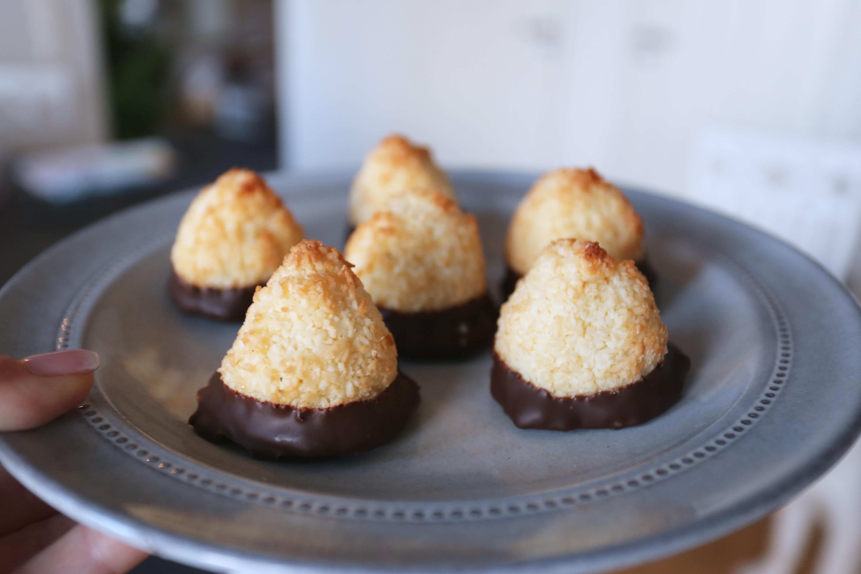 kokostoppar med choklad