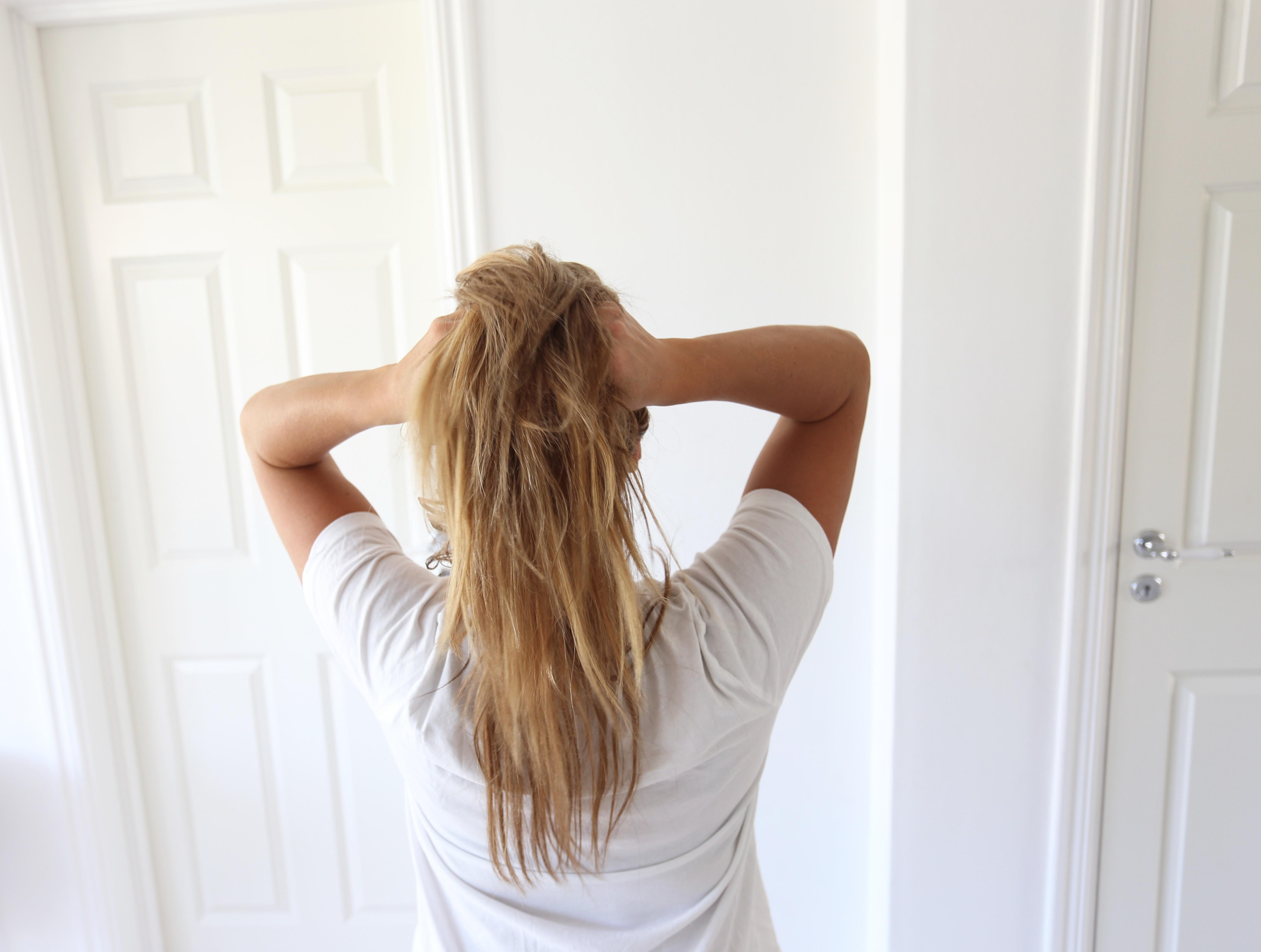 hur får man glansigt hår