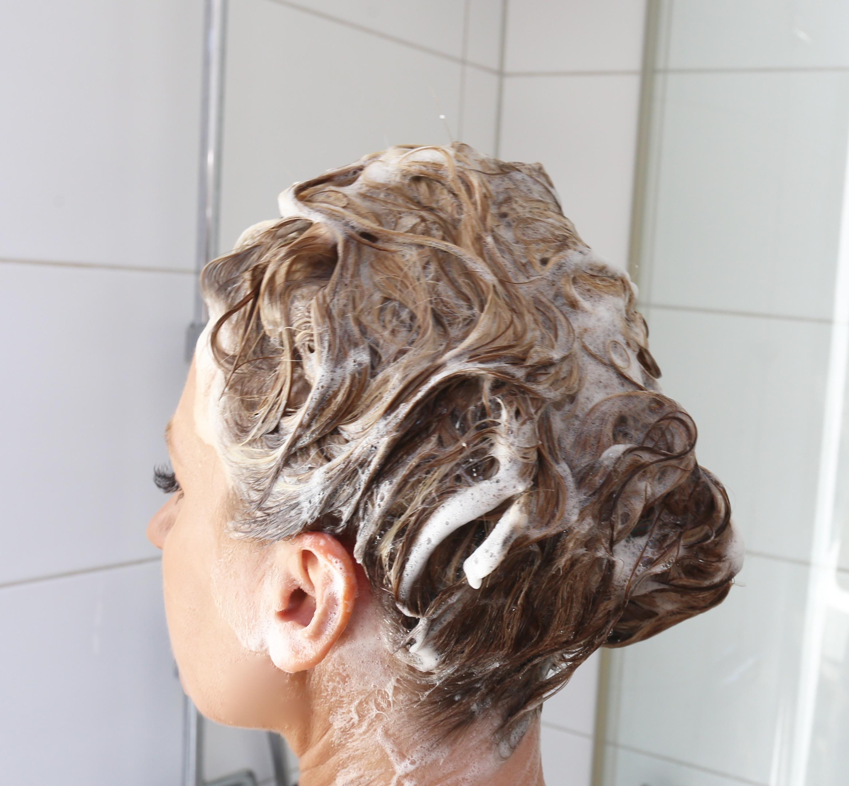 få glansigt hår
