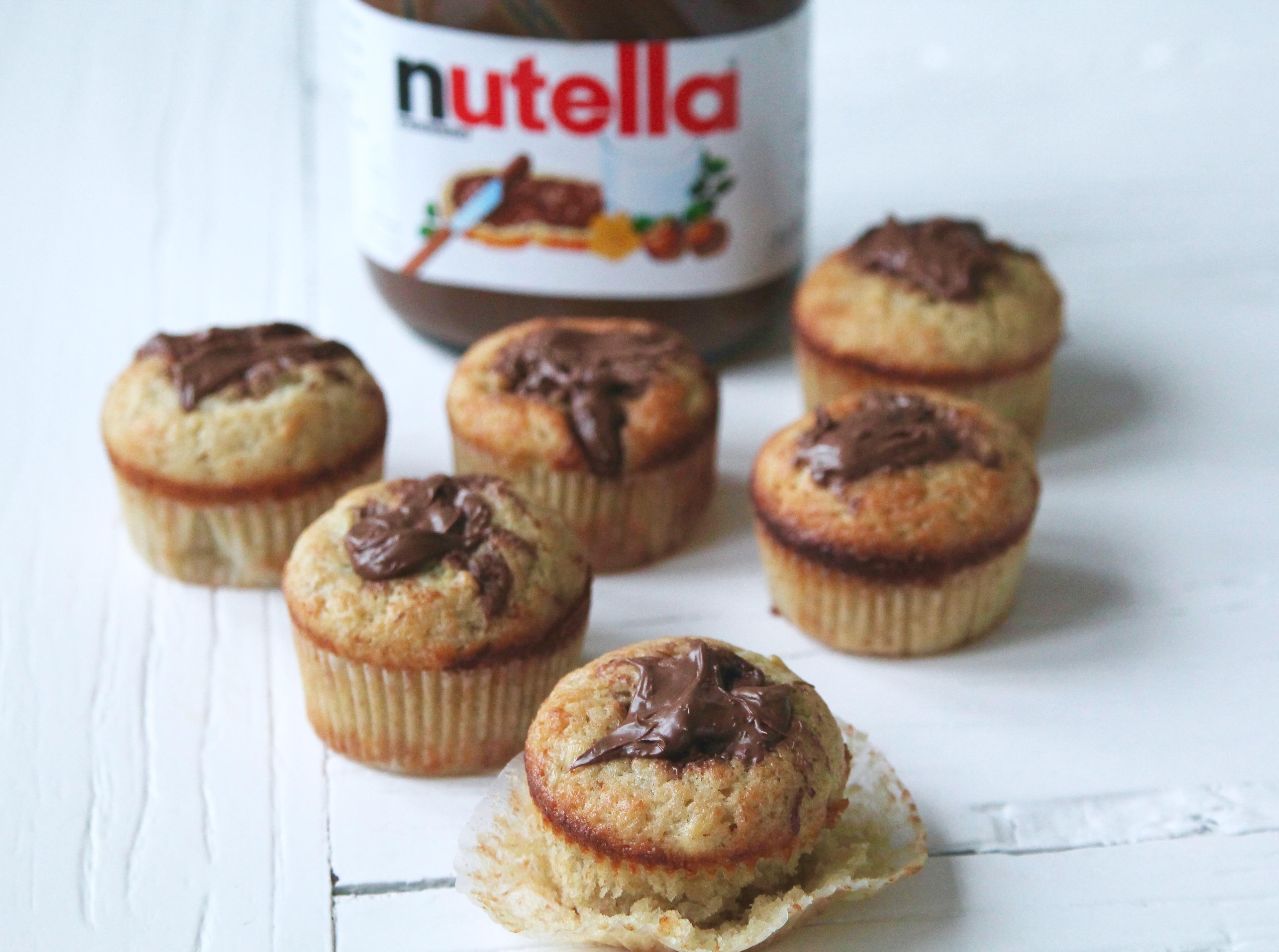 muffins med fyllning