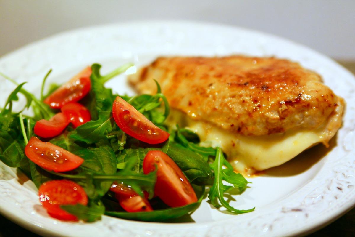 kyckling mozzarella soltorkade tomater