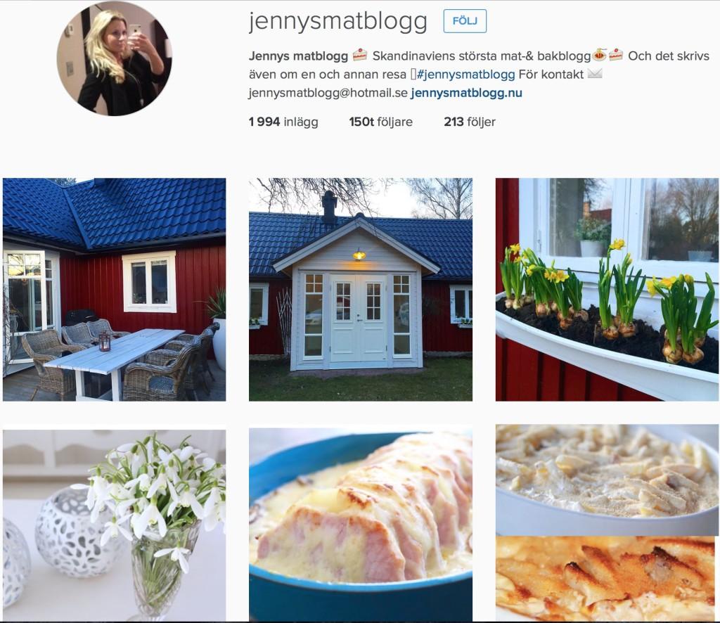 instagram Jennys matblogg
